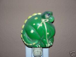 Ceramic molds, Jay-Kay Dinosaur night light