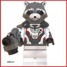 Marvel Avengers Rocket Raccoon Quantum Realm Suit Mini Figure Super Heroes WM639