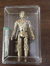 **FIGURAS VINTAGE**Star Wars Kenner AFA 90 GOLD C3PO 1977 graded Figures