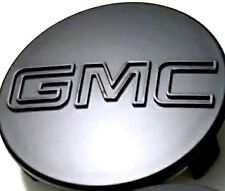 "1 PC Center Cap For GMC Black Sierra Yukon XL Denali Hub Cap 83mm 3.25"" 9595891"