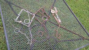 Set of 3 Vintage Animal leg traps