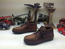 DISTRESSED EASTLAND USA BROWN LEATHER LACE UP TRAIL HIKE ANKLE BOOTS 10.5 M