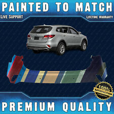 NEW Painted To Match Rear Bumper for 2017 2018 2019 Hyundai Santa Fe w/ Park