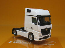 Herpa 309202 Mercedes-Benz ACTROS Gigaspace weiß Scale 1 87