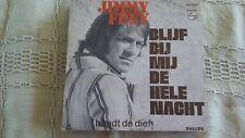 45t  JIMMY FREY-BLIJF BIJ MIJ DE HELE NACHT-