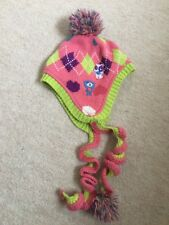 3-6 Years Girls Bobble Hat With Fleece Lining - Next - Barely Worn