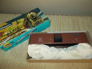 ATHEARN 5061 50' SIDE DOOR BOX CAR KIT, SOUTHERN PACIFIC RR, EXCELLENT UNBUILT