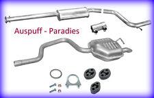 Abgasanlage Ford Mondeo III 2.0 TDDi / TDCi & 2.2 TDCi Limo B4Y/B5Y ab 10/02+Kit
