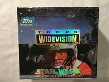 STAR WARS Trading Cards TOPPS WIDEVISION sealed box  24 ct  1994
