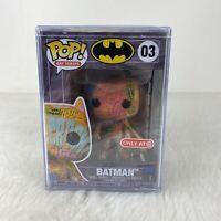 Funko Pop! Art Series: DC Heroes: BATMAN #03 Hard Stack Sealed Target Exclusive