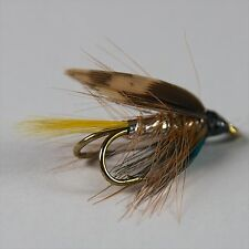 3 Wee Doubles Trout, Sea Trout Salmon  fly fishing flies sale by Dragonflies