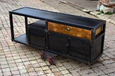 Meuble tv industriel sur mesurebois et mètal meuble industriel