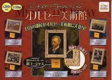 World Art Museum (include Van Gogh Painting) Gashapon Candy Toys (set of 10)