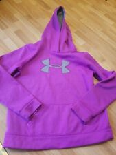 UNDER ARMOUR HOODIE GIRLS YOUTH LARGE PURPLE