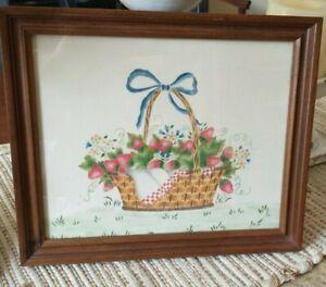 Theorem Painting, Basket of Strawberries