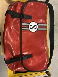 Schwinn Red Glitter/Sparkle Messenger Bag Made By Chrome