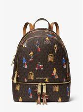 NWT MIchael Kors Rhea Medium Jet Set Girls Backpack