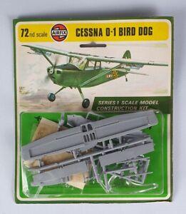 (216) 1970's Airfix 1/72nd Cessna O-1 Bird Dog