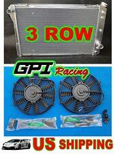 ALUMINUM RADIATOR +fan 82-92 CHEVY PONTIAC GMC CAMARO FIREBIRD P20 P30 P3500 V8