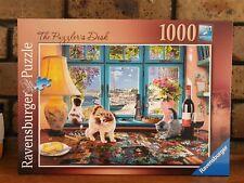 Ravensburger The Puzzlers Desk 1000 piece Jigsaw Puzzle