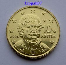 Griekenland / Greece 10 cent 2005 UNC