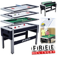 Air Hockey Table Kids Multi Game Swivel Tennis Ping Pong Pool Billiard Bowling