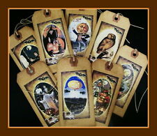 SCARY HALLOWEEN HANG TAGS - VINTAGE STYLE  - EIGHT AND SCENTED