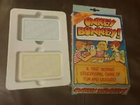 Vintage CARD GAME ONKEY DONKEY! KITFIX SWALLOW COMPLETE VGC