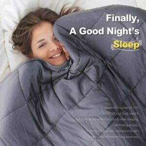 5.5/7/9/11Kg Weighted Blanket Deep Sleeping Reduce Stress For All Ages