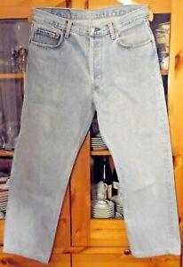 Levis Jeans , Model 501 , Levi Strauss , blau,Groesse W 36 L 34 ,100 % Baumwolle