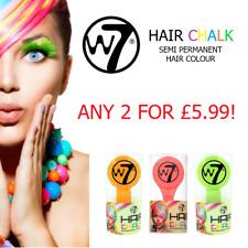 W7 Hair Chalk Semi Permanent Hair Colour - Choose ANY 2 Shades