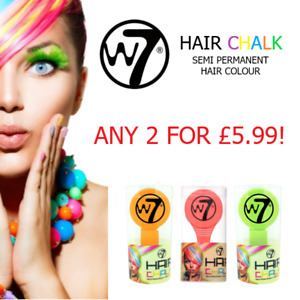 W7 Hair Dye Chalk Semi Permanent Color 4g