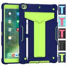"""For iPad 7th Gen 10.2"""" inch 2019 Heavy Duty Shockproof Hybrid Rubber Case Cover"""