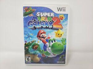 Super Mario Galaxy 2 (Nintendo Wii, 2010) CIB Complete TESTED Fast Shipping