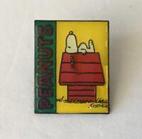Vintage Snoopy Peanuts Lapel Pin Pinback