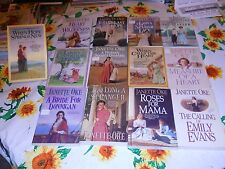 13 TPBs Janette Oke BLUEBIRD GOWN OF SPANISH LACE DAMARIS ROSES FOR MAMA + 9
