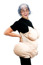 FAT SUIT OLD LADY SAGGY BOOBS HILARIOUS FUNNY COSTUME DRESS PM539826