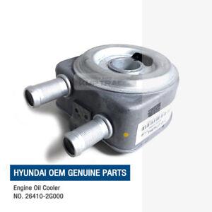 Genuine OEM Parts Engine Oil Cooler 264102G000 For 2001-15 Kia Hyundai 2.0L 2.4L