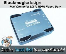 BlackMagic Mini Converter SDI to HDMI Heavy Duty CONVMH/DUTYBSH w/ Orig Box