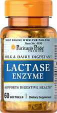 Super Lactase Enzyme 125 mg x 60 Capsules ** AMAZING PRICE **