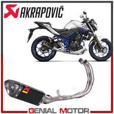 Full System Exhaust Carbon Akrapovic Racing Line for YAMAHA MT03 2016 > 2018