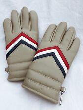 Vintage Retro Wells Lamont Red White Blue Chevron Winter Working Gloves Womens M
