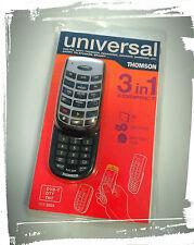 Telecomando universale ROC3205 THOMSON 3 in 1 TV/DVB-T/HI-FI/VCR DVD