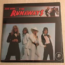 THE RUNAWAYS -  JOAN JETT  - And Now -  1979 SEALED vinyl on Cherry Red UK