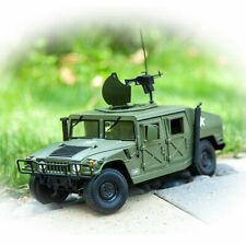 Alloy Diecast Tactical Vehicle 1:18 US Military Armored Car Diecast HUMVEE Model