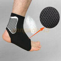 Sport Ankle Support socks Neoprene Blend Black Provides Compression Sock
