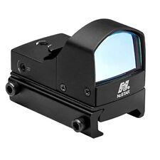 NcSTAR DDABG Aluminum Compact Tactical Green Reticle Micro Dot LED Sight Black