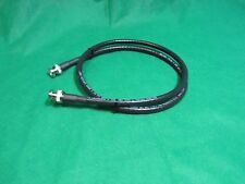Belden 75 Ohms TRUE RG6 High Resolution CCTV BNC to BNC  Black Cable, 1 Ft.