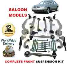 FOR VW PASSAT Saloon 2000-2005 FRONT LOWER & UPPER ARMS + LINKS with BOLTS KIT