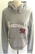 Abercrombie & Fitch Women Grey Long Sleeve Hoodie L